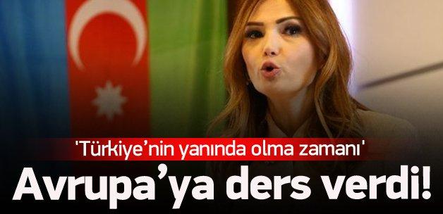 Paşayeva: Türkiye'nin yanındayız
