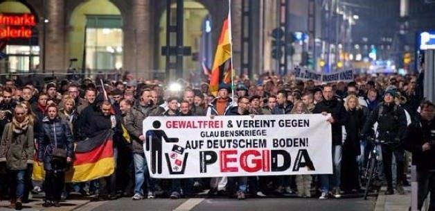Pegida'ya Polonya'da şok: Şiddet ile engelleriz