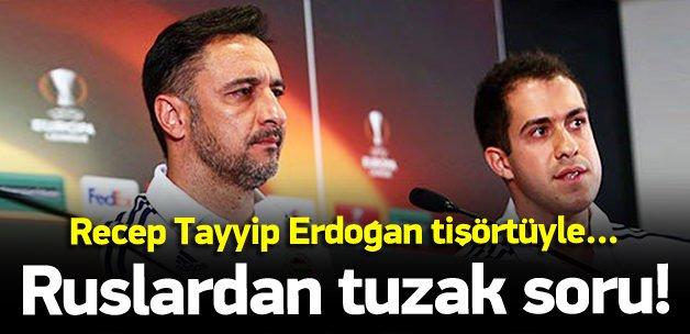 Pereira'ya Recep Tayyip Erdoğan sorusu!
