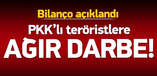PKK'lı teröristlere 4 ilde ağır darbe!