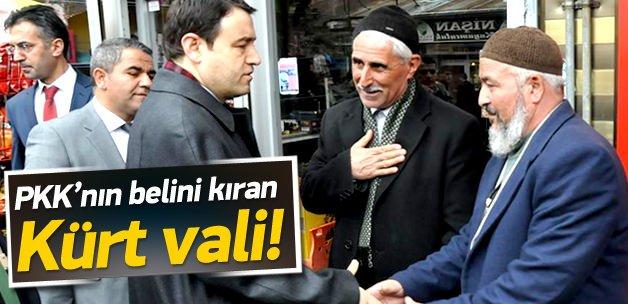 PKK'nın belini kıran Kürt vali