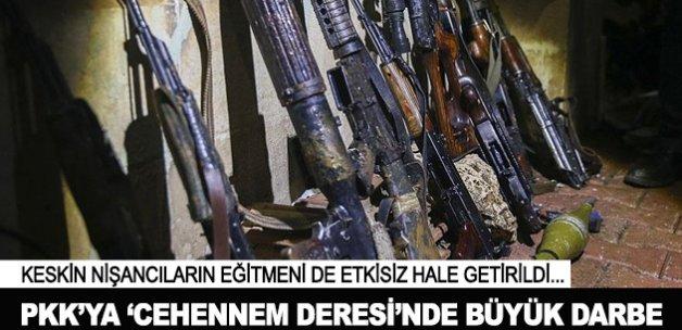 PKK'ya 'Cehennem Deresi'nde büyük darbe
