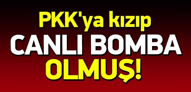 PKK'ya kızıp IŞİD'in canlı bombası olmuş!