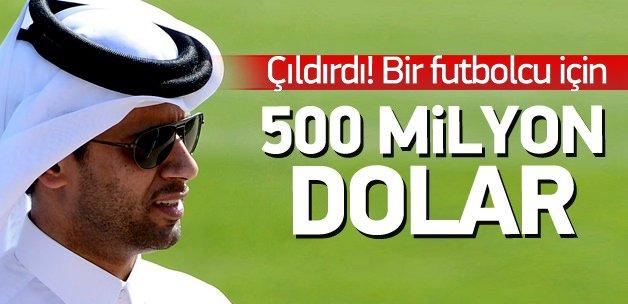 PSG'den Neymar'a 500 milyon dolar!