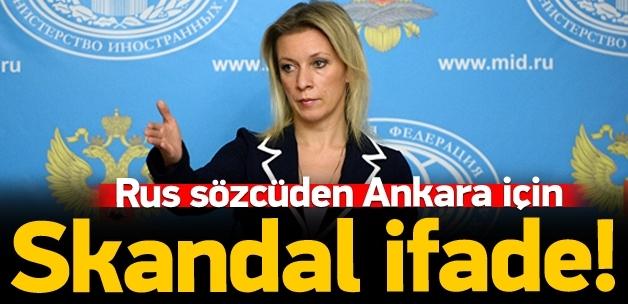 Rus sözcüden Ankara saldırısı için skandal ifade!