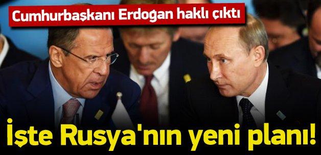 Rusya'dan ABD'ye yeni Suriye planı