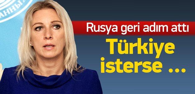 Rusya'dan geri adım: Türkiye isterse katılabilir