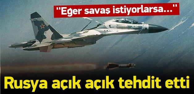 Rusya'dan 'Suriye' tehdidi