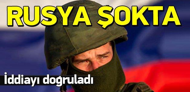 Rusya, muhaliflerin iddiasını doğruladı!