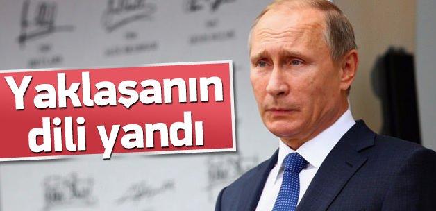Rusya'ya yaklaşan sarsıldı