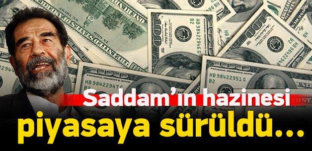 Saddam'ın dolarları piyasaya sürüldü!
