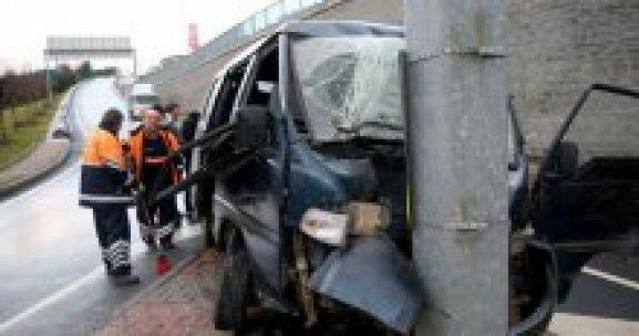 Sarıyer'de kaza, 6 yaralı