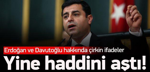 Selahattin Demirtaş'tan skandal sözler