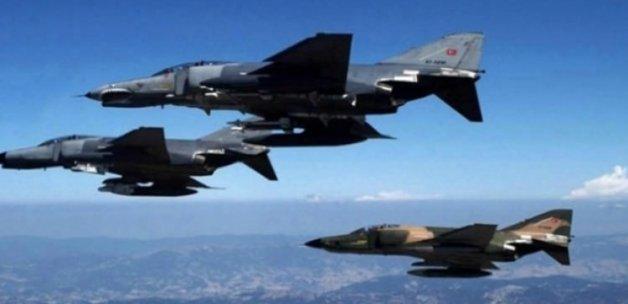 Sınıra 10 adet F-16 gönderildi