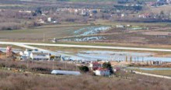 Sinop Havalimanı sular altında kaldı
