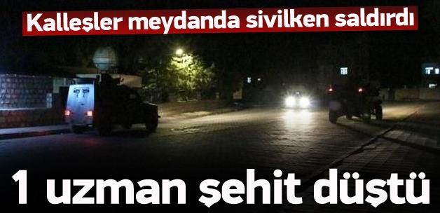Şırnak'tan acı haber! 1 şehit