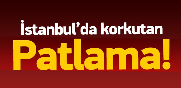 Sultanbeyli'de patlama