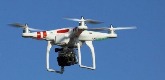 Şüpheli 'drone' vuruldu