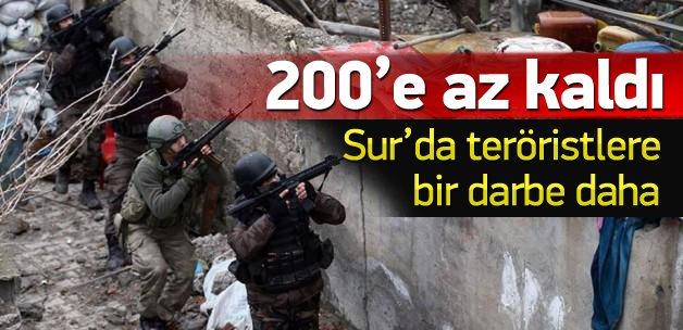 Sur'da kaç terörist öldürüldü?