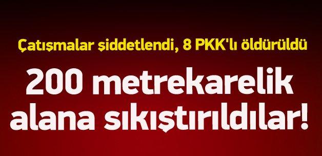 Sur'da PKK'lılar sıkıştırıldı