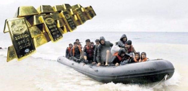 Suriyeli mültecinin canı da ucuz altını da