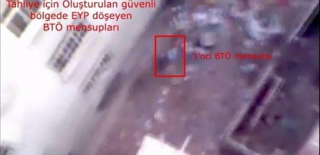 Tahliye koridorunu fırsat bilip bomba döşediler