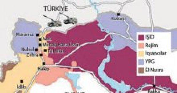 Tel Rıfat'ın yüzde 70'i YPG'nin eline geçti