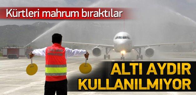 Terör olayları havalimanını da vurdu