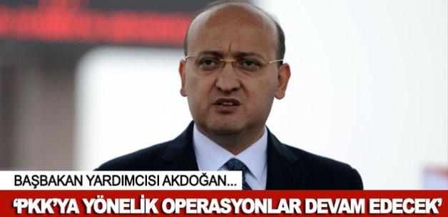"""""""Terör örgütü PKK operasyonları devam edecek"""""""
