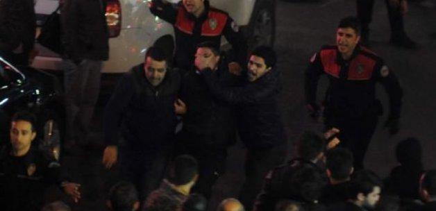 Trabzon'da sıcak dakikalar! Son anda yakalandı