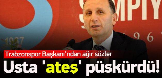 Trabzonspor Başkanı'ndan olay açıklamalar