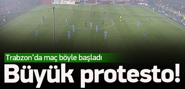 Trabzonspor'dan protesto