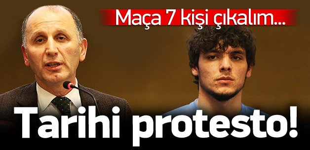 Trabzonspor tarihi protestoya hazırlanıyor!
