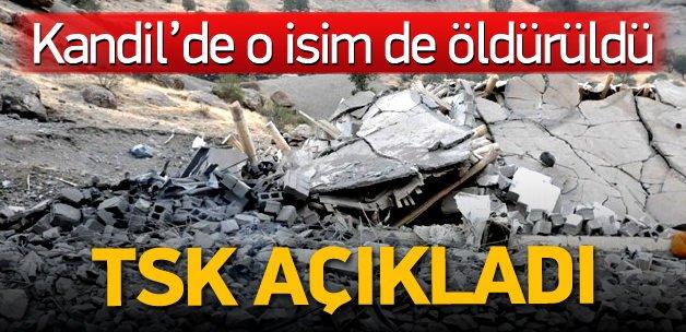 TSK açıkladı; Kandil'de o isim de öldürüldü