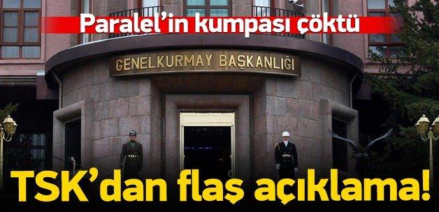 TSK'dan beraat kararı açıklaması!