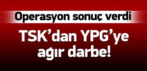 TSK'dan YPG'ye ağır darbe! En az 53 ölü