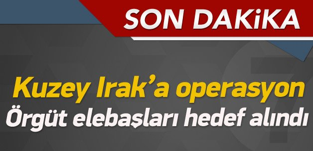TSK: Haftanine hava saldırısı düzenlendi