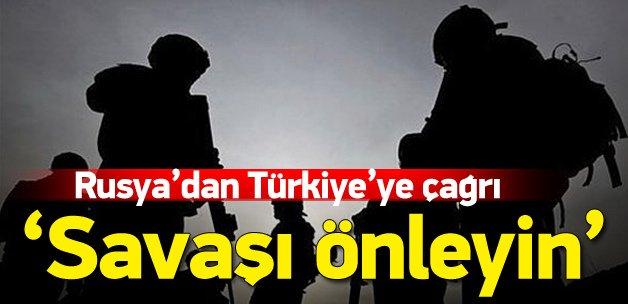 'Türkiye, ABD ve Rusya savaşı önlemeli'
