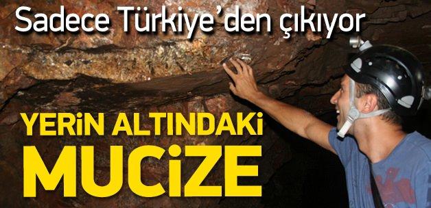 Türkiye'de yerin altında yatan mucize