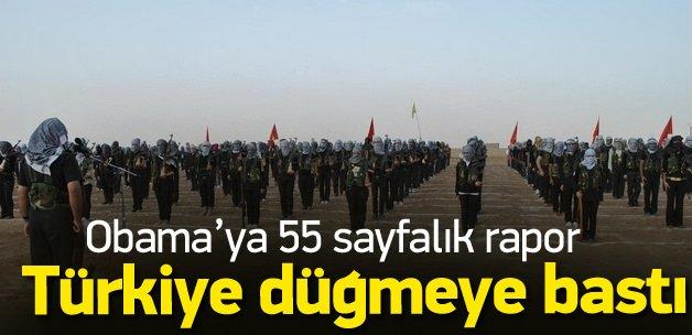 Türkiye'den ABD'ye 55 sayfalık PYD raporu