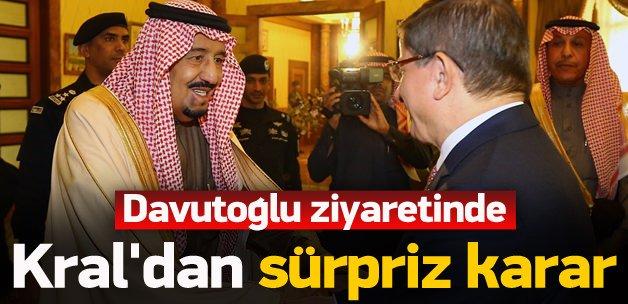 Türkiye görüşmesi sonrası Suudilerden flaş karar