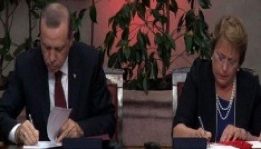 Türkiye ile Şili arasında işbirliği anlaşmaları imzalandı