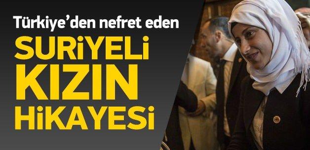 Türkiye nefreti sevgiye dönüşen Suriyeli kızın hikayesi