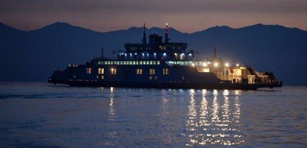Türkiye'nin en büyük yerli feribotu hizmete girdi
