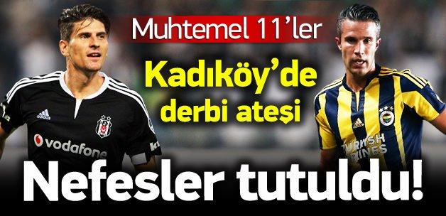 Türkiye'nin gözü Kadıköy'de! (Muhtemel 11'ler)