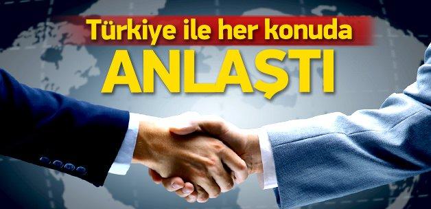'Türkiye ve İsrail her konuda anlaştı'