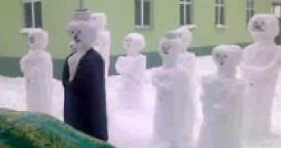 Türkiye'nin en güzel kardan adamları