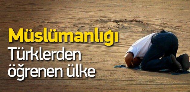 Türkler'in Müslümanlıkla tanıştırdığı ülke