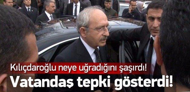 Vatandaştan Kılıçdaroğlu'na tepki!