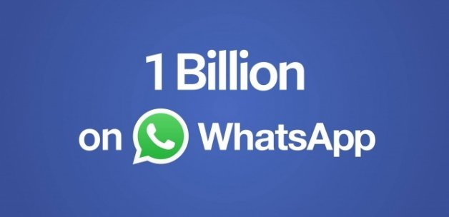 WhatsApp kullanıcısı 1 milyarı aştı